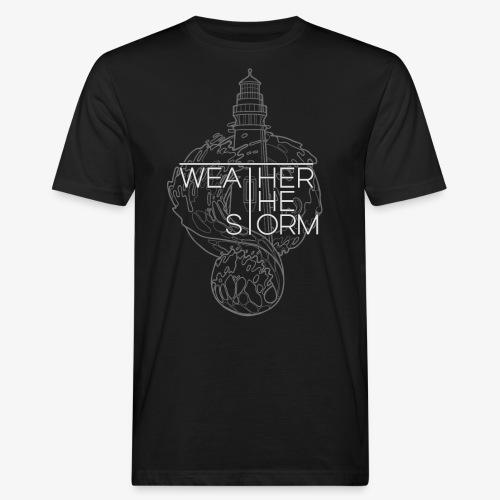 Weather The Storm Logo - T-shirt ecologica da uomo