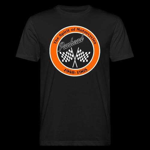 Zielflagge Panhead - Männer Bio-T-Shirt