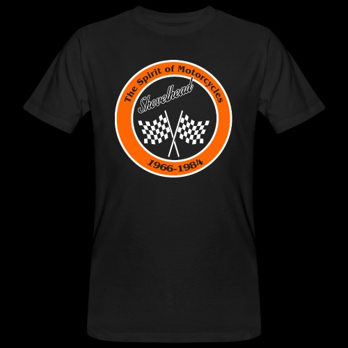 Zielflagge Shovelheat - Männer Bio-T-Shirt
