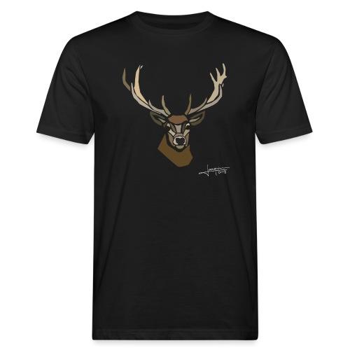 cerf-spread - T-shirt bio Homme