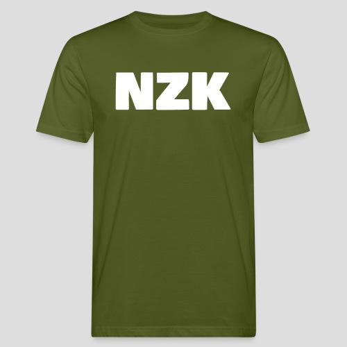 NZK logo - Mannen Bio-T-shirt