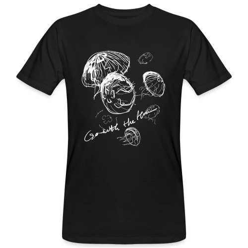 Go with the flow - Men's Organic T-Shirt