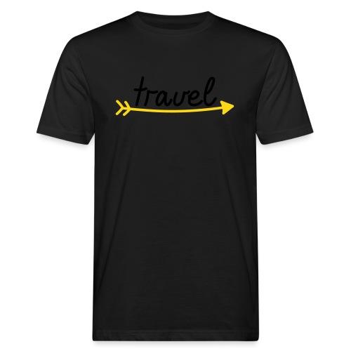 Travel - Männer Bio-T-Shirt