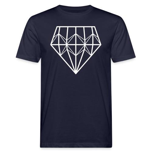 Diamond - Miesten luonnonmukainen t-paita