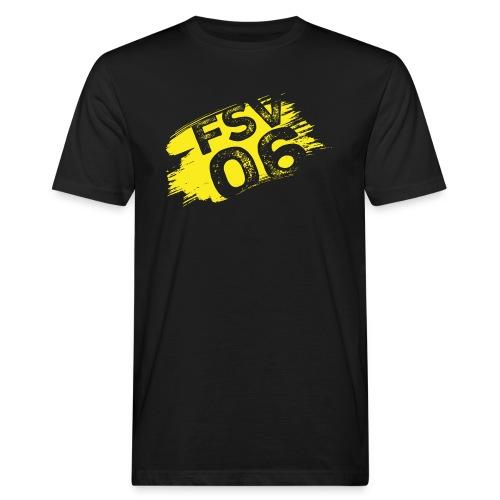 Hildburghausen FSV 06 Graffiti gelb - Männer Bio-T-Shirt