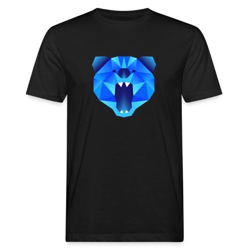 Polygon Bär - Männer Bio-T-Shirt
