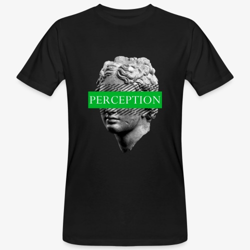 TETE GRECQ GREEN - PERCEPTION CLOTHING - T-shirt bio Homme