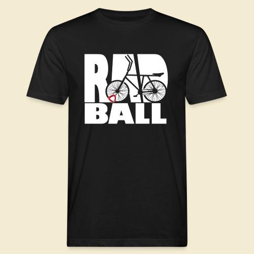 Radball | Typo - Männer Bio-T-Shirt