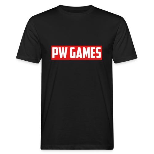 PW Games Tekst - Mannen Bio-T-shirt