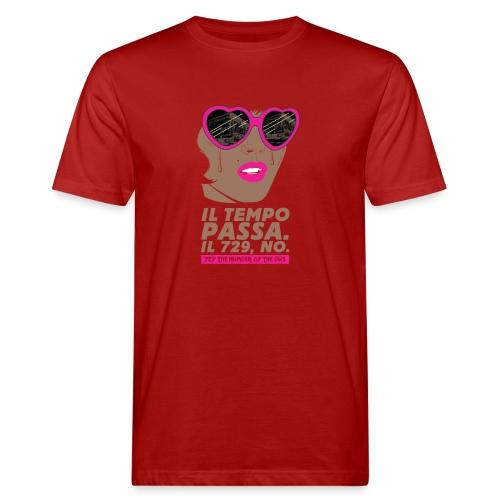 729 scuro Copy Tempo - T-shirt ecologica da uomo