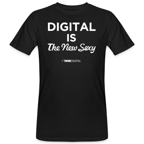 Digital is the New Sexy - T-shirt ecologica da uomo