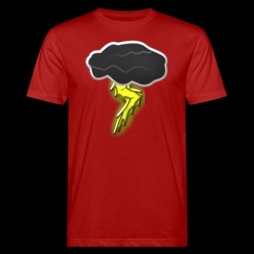 Blitzschlag - Männer Bio-T-Shirt