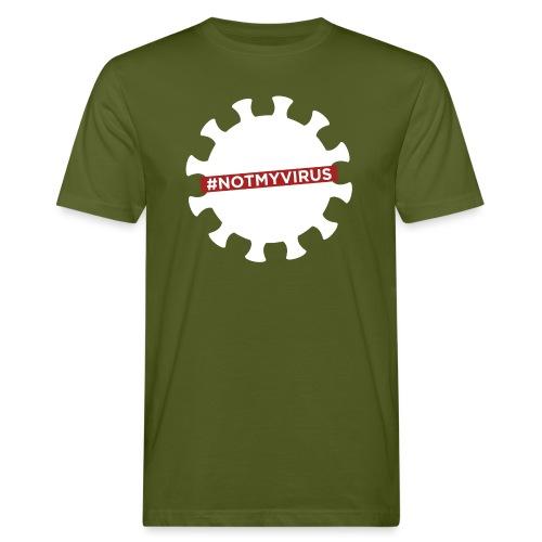NotMyVirus White - T-shirt bio Homme