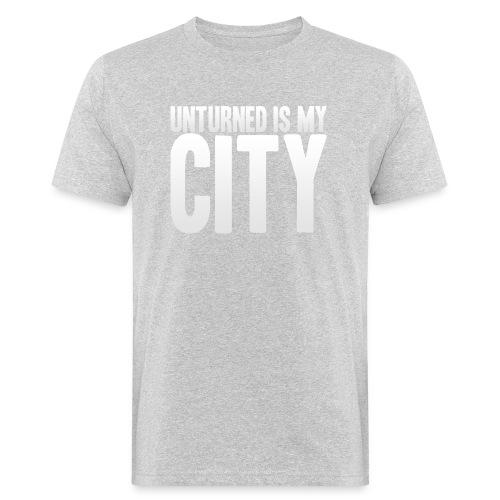 Unturned is my city - Men's Organic T-Shirt