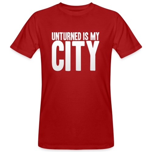 Unturned is my city - Men's Organic T-Shirt