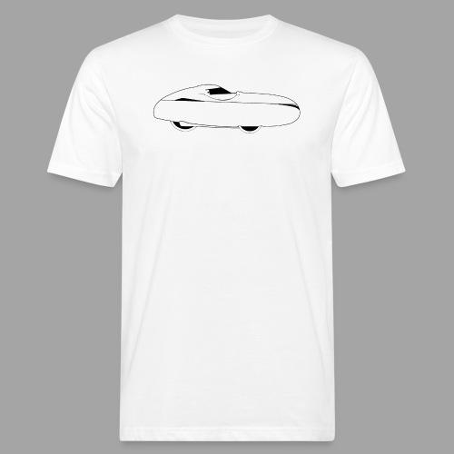 Quest Human Powered Vehicle 2 white - Miesten luonnonmukainen t-paita