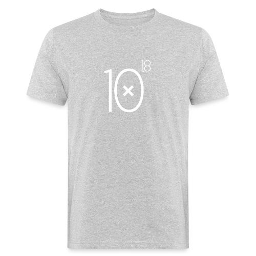Classic Logo White Tee - Ekologiczna koszulka męska