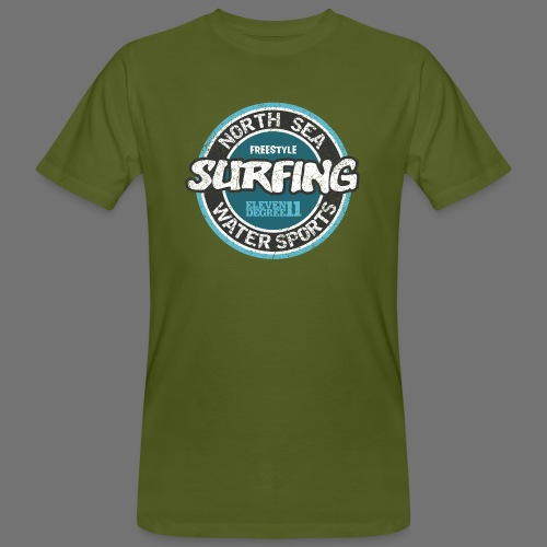 North Sea Surfing (oldstyle) - Men's Organic T-Shirt