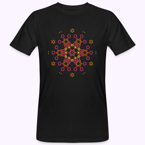 Mandala Nube - Camiseta ecológica hombre