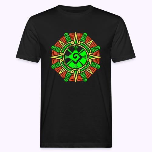 Hunab Ku Mayan Kuukivi - Miesten luonnonmukainen t-paita