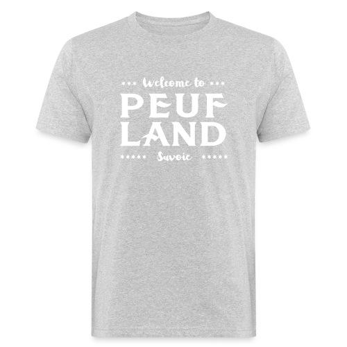 Peuf Land 73 - Savoie - White - T-shirt bio Homme