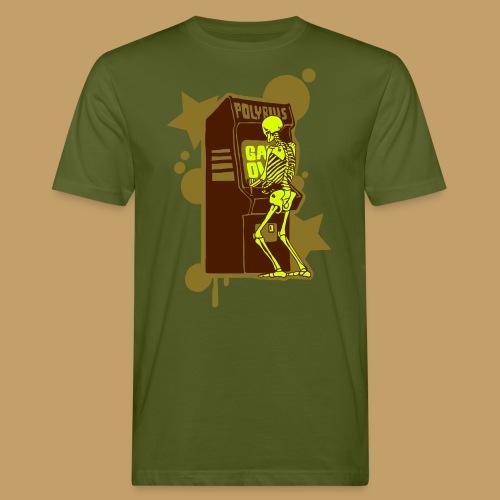 Hi-Score Gold and Neon - Ekologiczna koszulka męska