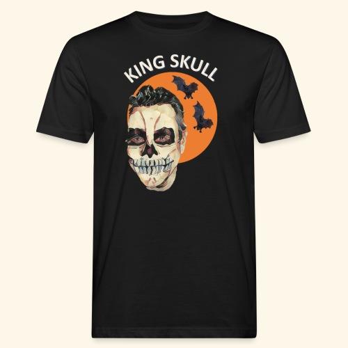 Totenkopf Nahtoderfahrung Mystik - Männer Bio-T-Shirt