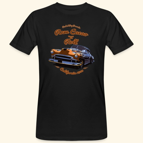 Raw Cacao 'N' Roll - Men's Organic T-Shirt