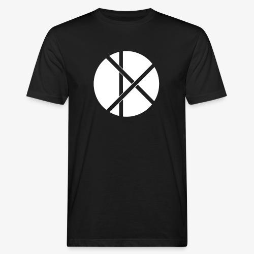 Don Logo - valkoinen - Miesten luonnonmukainen t-paita