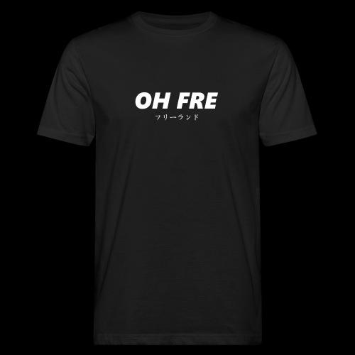 Oh Fre white - T-shirt ecologica da uomo
