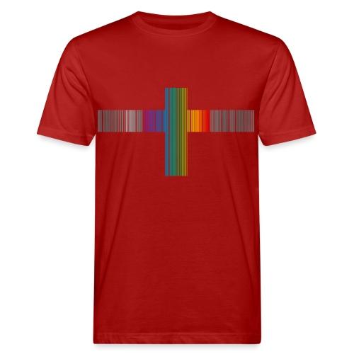 Rainbow Cross - Ekologisk T-shirt herr