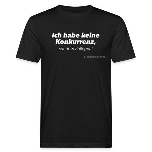keine-konkurenz_black - Männer Bio-T-Shirt