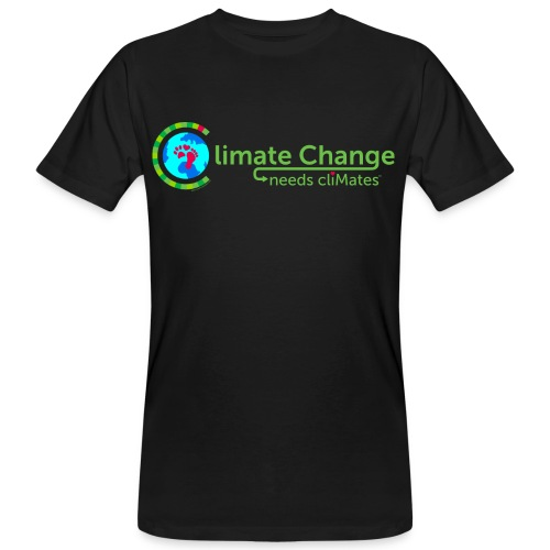 Climate Change needs cliMates - Men's Organic T-Shirt