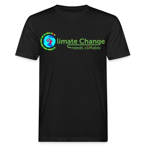 Climate Change needs cliMates - Men's Organic T-Shirt