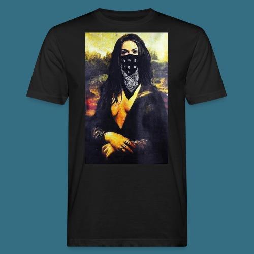 Mona Lisa Gangsta - Ekologiczna koszulka męska