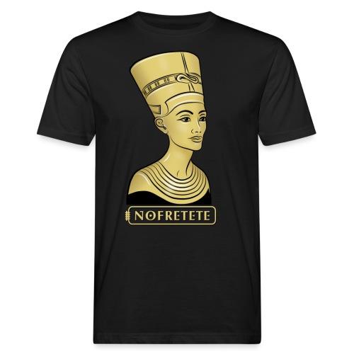 Nofretete I Königin von Ägypten - Männer Bio-T-Shirt
