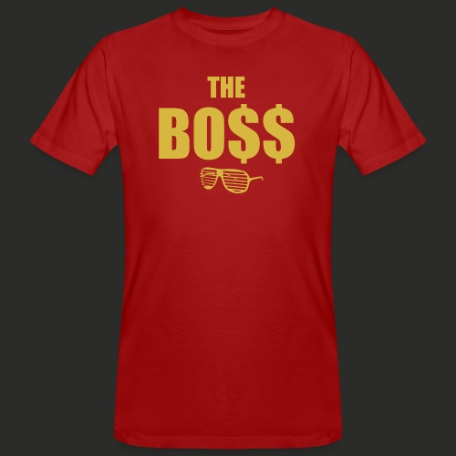 The Bo$$ Mens T-Shirt - Men's Organic T-Shirt