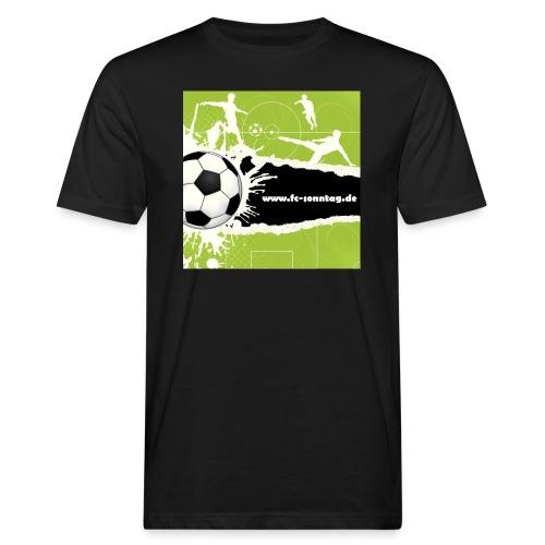 FC Sonntag Weblogo - Männer Bio-T-Shirt