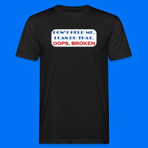 I CAN DO THAT - Männer Bio-T-Shirt
