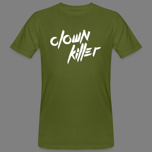 clown killer - Männer Bio-T-Shirt