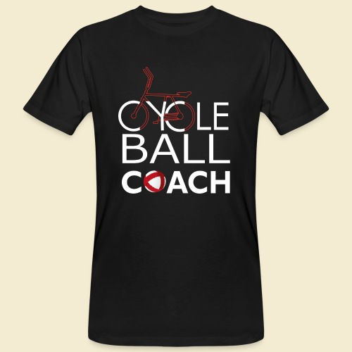 Radball | Cycle Ball Coach - Männer Bio-T-Shirt