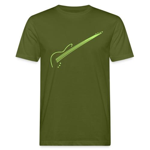 E-Bass - Männer Bio-T-Shirt