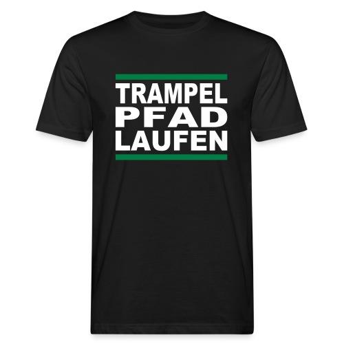 TRAMPELPFADLAUFEN - Männer Bio-T-Shirt