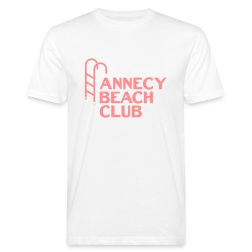 Annecy beach club - natation - T-shirt bio Homme