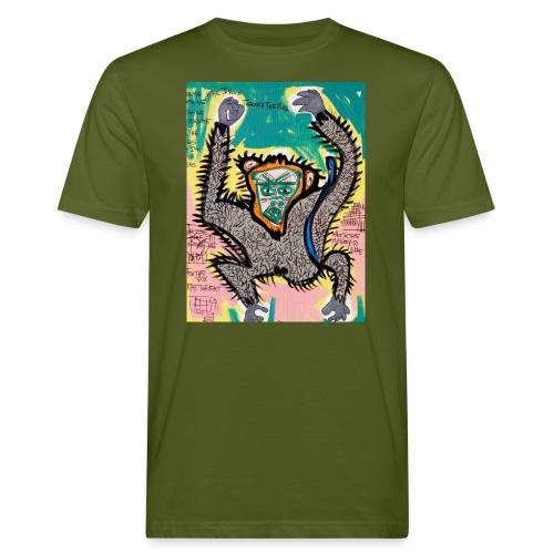 the monkey - T-shirt ecologica da uomo