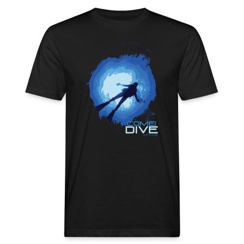 Come and dive with me - Ekologiczna koszulka męska
