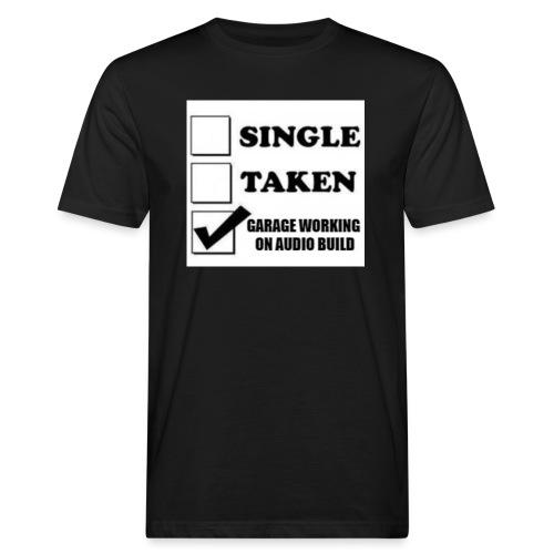 BassShirt - Miesten luonnonmukainen t-paita