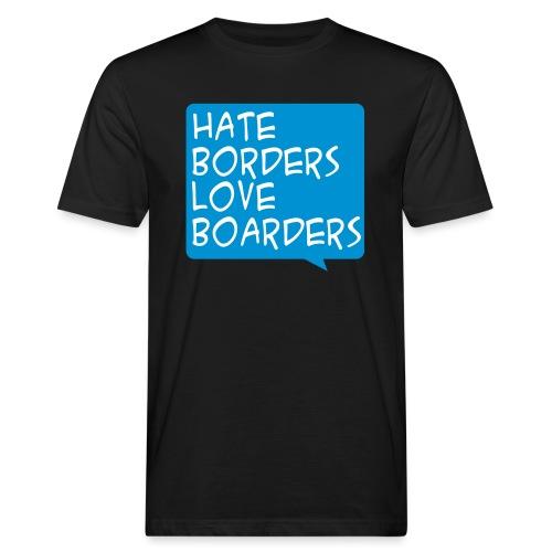 hatelove - Männer Bio-T-Shirt