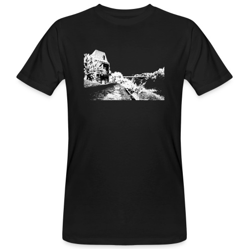 J'aime Mouleydier - Pont F - T-shirt bio Homme