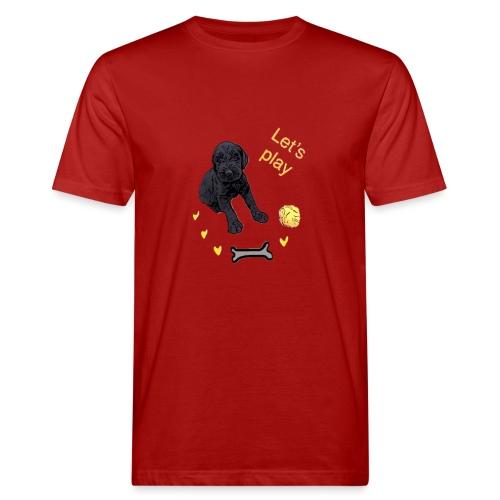 Giant Schnauzer puppy - Men's Organic T-Shirt